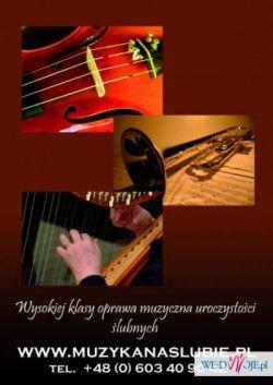 muzykanaslubie.pl KLASYCZNA OPRAWA MUZYCZNA ŚLUBÓW - WOLNE TERMINY 2016