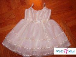 Na welela ,komunie ,urodziny sukienka 2/3 latka CARE GIVE BABY USA