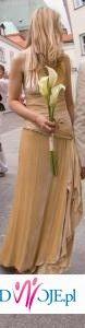 Niepowtarzalna, jawiskowa suknia od znanego projektanta - OKAZJA!