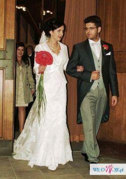 Niepowtarzalna, markowa  suknia ślubna