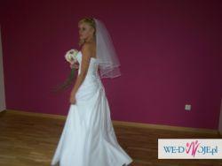 Niepowtarzalna suknia ślubna!!!