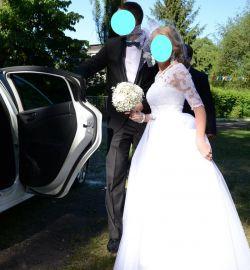 Niepowtarzalna suknia ślubna 3 w 1