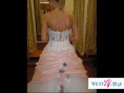 Niepowtarzalna suknia ślubna 34/36 - Marietta