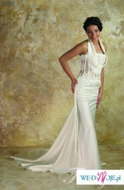 Niepowtarzalna suknia ślubna FARAGE (w kształcie syreny)