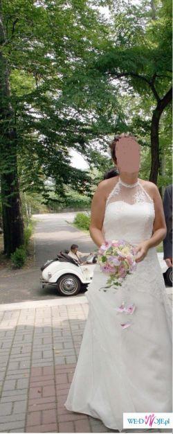 Niepowtarzalna suknia ślubna-tanio!