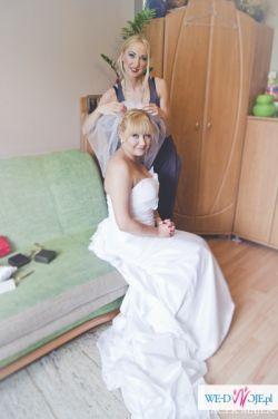 Niepowtarzalna Włoska suknia ślubna