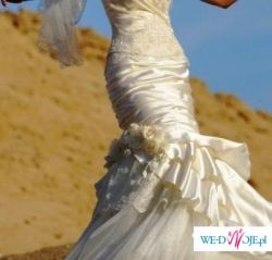 niesamowita i wyjątkowa suknia ślubna