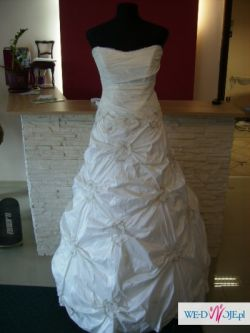 Niesamowita suknia r. 36-40, ivory