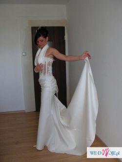 Niesamowita suknia ślubna FARAGE (model syreny)