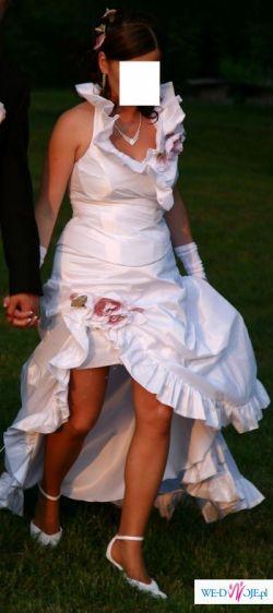 Niestandardowa suknia ślubna Chiara