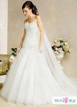 Nieużywana przepiękna suknia ślubna z USA