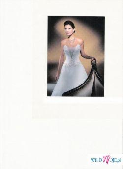 NIEUŻYWANA suknia ślubna Demetrios!!!