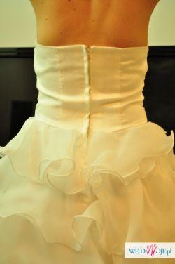 Nieuzywana suknia slubna prosto z fabryki