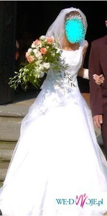 niezwykla BiAła suknia ŚlUbNa