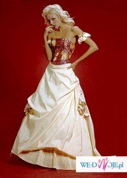 Niezwykle oryginalna suknia ślubna / balowa !!!