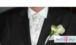 Noszony tylko w dniu ślubu LUIGI VESARI kolor gorzka czekolada