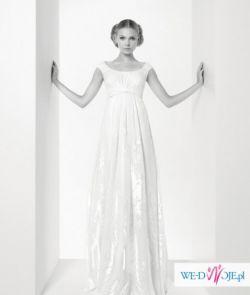 nowa hiszpańska suknia ślubna Jesus del Pozo