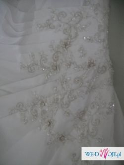NOWA markowa suknia ślubna gotowa z salonu z metką OKAZJA TANIO GRATISY