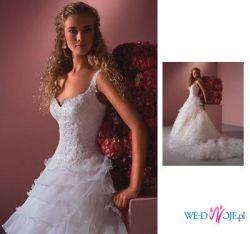 NOWA NIEUŻYWANA suknia Sincerity 3243, prosto z salonu, mniej niż za pól ceny