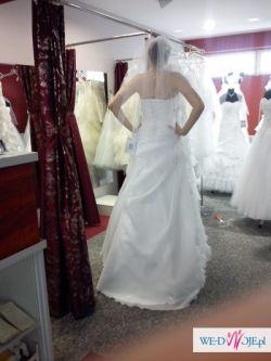 Nowa, nieużywana suknia ślubna Afrodyta-Beryl