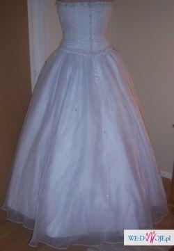 Nowa piekna suknia slubna