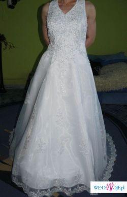 Nowa piękna suknia ślubna, roz.36-38-40 cena 1000 zł ( do negocjacj)