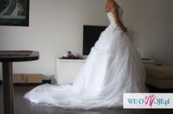 nowa przepiękna suknia ślubna