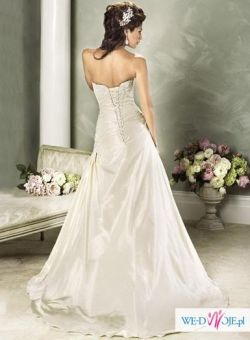NOWA! Śliczna suknie ślubna - 266,15+koszty przesyłki