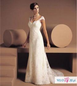 NOWA! Śliczna suknie ślubna - 543,1 zł+koszty przesyłki