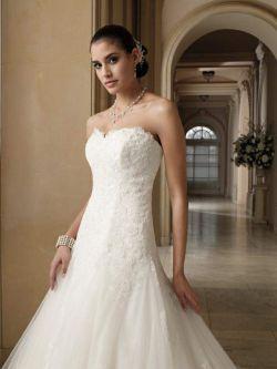 NOWA suknia ślubna księżniczka Mon Cheri 212244 r. 38/40 + gratisy