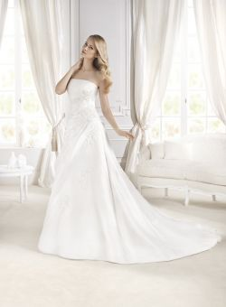 NOWA suknia ślubna LA SPOSA DAPHNE  r. 36/38 + gratisy