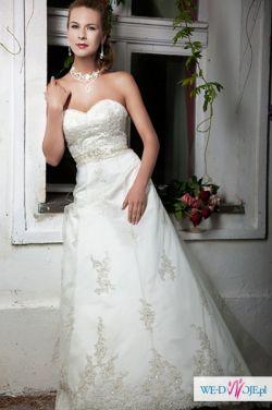 NOWA suknia ślubna producenta Annais