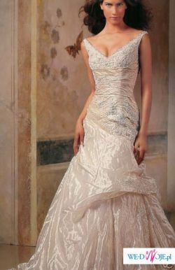 NOWA suknia slubna PRONOVIAS LEEDS - CUDO!!! Na chlodniejsze dni