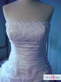 NOwa suknia ślubna Sincerity 3461 biała