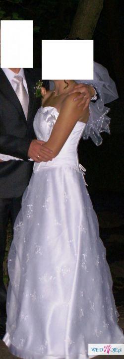 Nowa z tego roku suknia ślubna