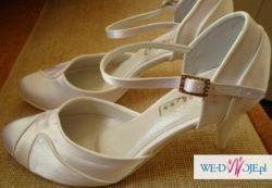 d5076f219f345 Nowe, atłasowe buty ślubne rozm.38 - Buty - Ogłoszenie - Komis, baza ...