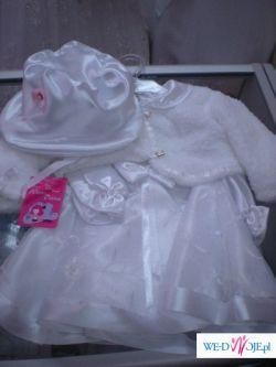 Nowe ubranko do chrztu OKAZJA !!!