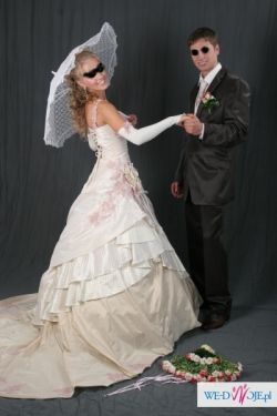 NOWOŚĆ! Suknia ślubna OD DESIGNERA w trzech kolorach + GRATIS