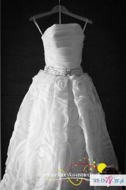 NURIA suknia ślubna AIRE BARCELONA 36/38 164cm Bydgoszcz