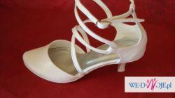 Obuwie  ślubne i do komunii buty komunijne CASANI