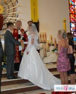 Oddam w dobre ręce swoją suknię ślubną model SINCERITY 3461 w bieli.