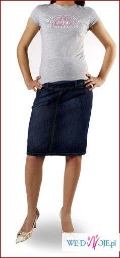 odzież ciążowa pakiet  NOWEJ odzieży  jeansowe spodnie, spódnice, legginsy