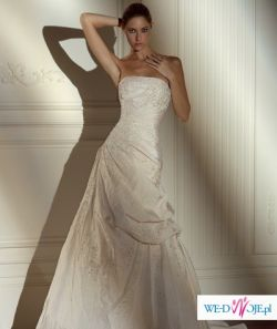 Okazja!!! Hiszpańska Pronovias model NEPAL kolekcja 2008!