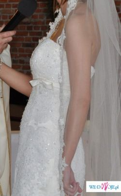 OKAZJA!!!hiszpańska suknia ślubna