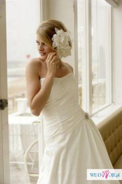 Okazja! Jedwabna suknia ślubna