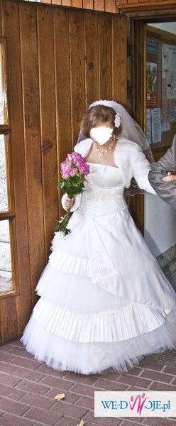 Okazja! Oryginalna piękna suknia ślubna. Tanio! Uczyni Twój ślub wyjątkowym! Gra