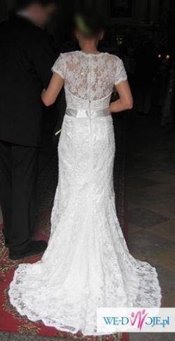 Okazja! Oryginalna suknia ślubna!