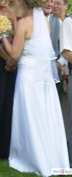 okazja!!piękn ai naprawde tania suknia ślubna