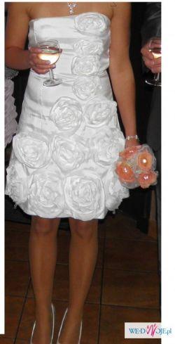 Okazja! Piękna sukienka na ślub cywilny
