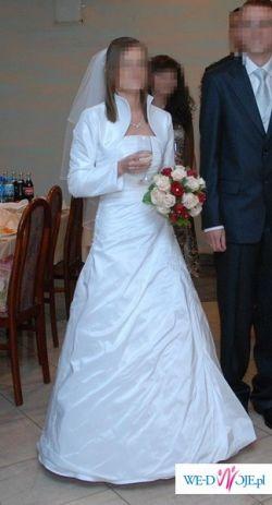 !!Okazja!!piekna suknia śłubna!!